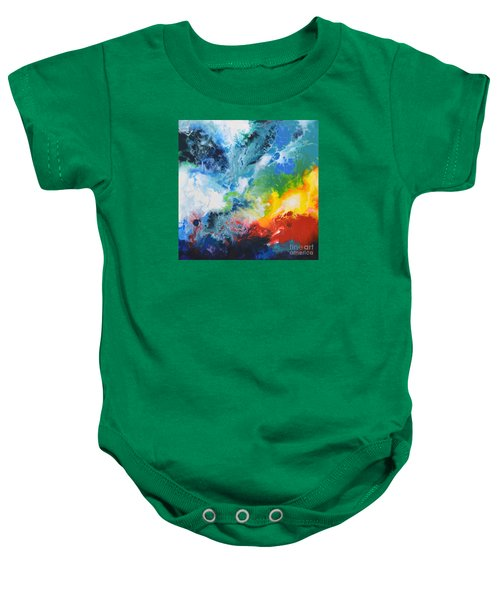 Spark Of Life Canvas Two Baby Onesie