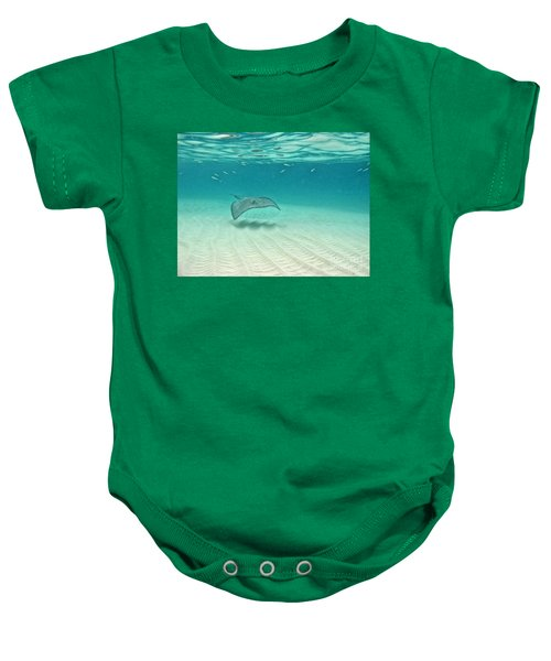 Underwater Flight Baby Onesie