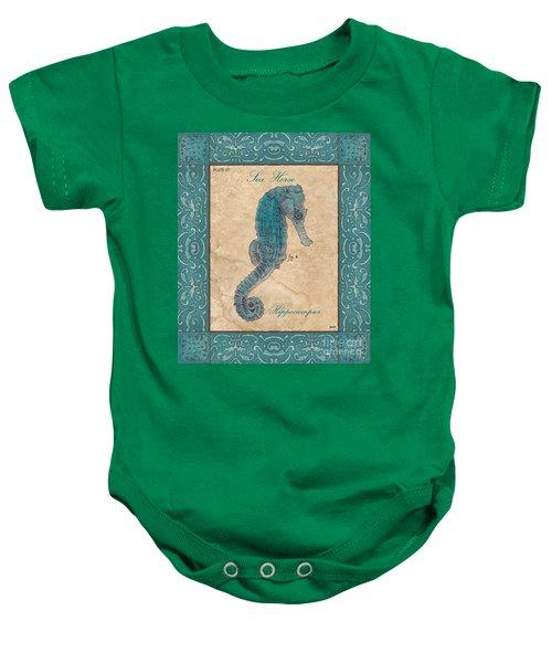 Verde Mare 3 Baby Onesie