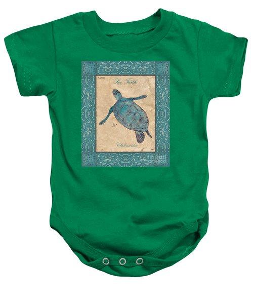 Verde Mare 4 Baby Onesie