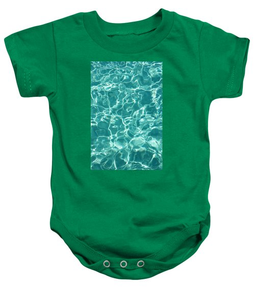 Water Meditation I. Five Elements. Healing With Feng Shui And Color Therapy In Interior Design Baby Onesie