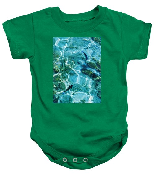 Water Meditation II. Five Elements. Healing With Feng Shui And Color Therapy In Interior Design Baby Onesie