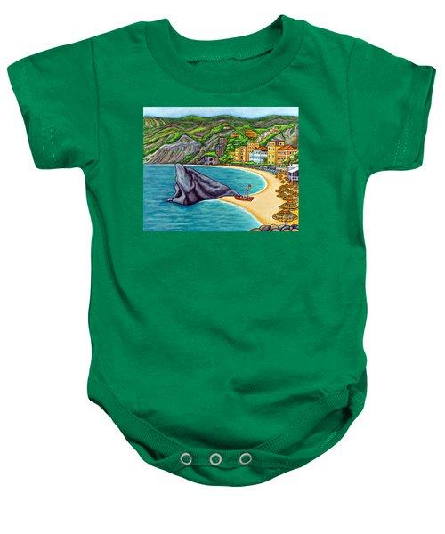 Colours Of Monterosso Baby Onesie
