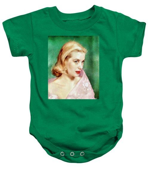 Grace Kelly By John Springfield Baby Onesie