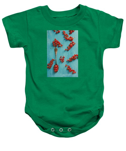 Red Currant Baby Onesie