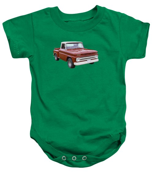 1965 Chevrolet Pickup Truck Baby Onesie