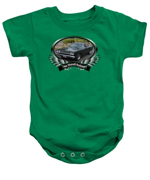 1968 Plymouth Roadrunner Davie Baby Onesie