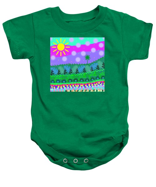 A Little Whimsy Baby Onesie