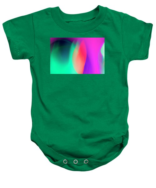 Abstract No. 6 Baby Onesie