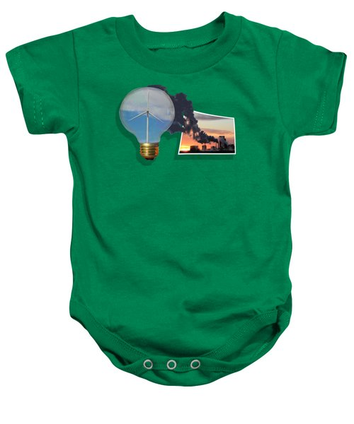 Alternative Energy Baby Onesie