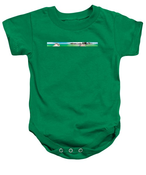 Anna Maria Island With Rod And Reel Pier Baby Onesie