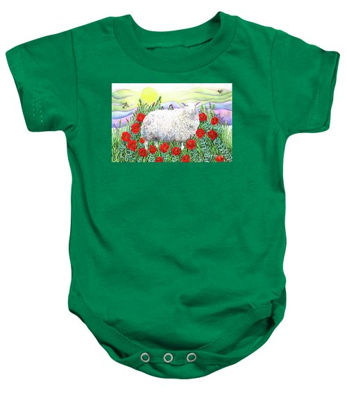 Arrival Of The Hummingbirds Baby Onesie