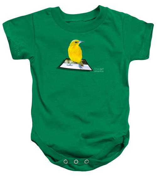 Two Worlds Baby Onesie