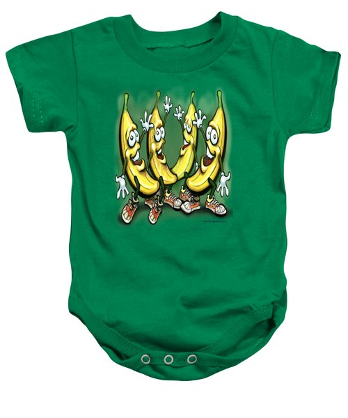 Bananas Baby Onesie by Kevin Middleton