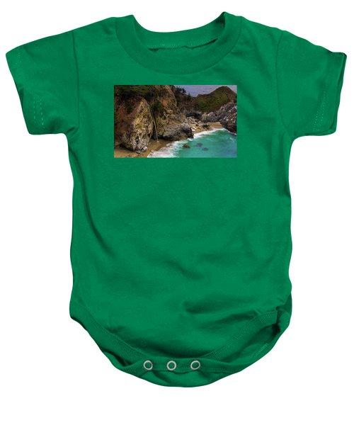 Big Sur Waterfall Baby Onesie