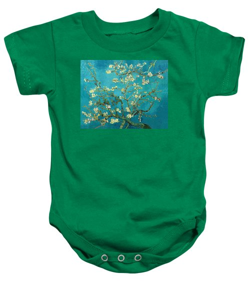 Baby Onesie featuring the painting Blossoming Almond Tree by Van Gogh