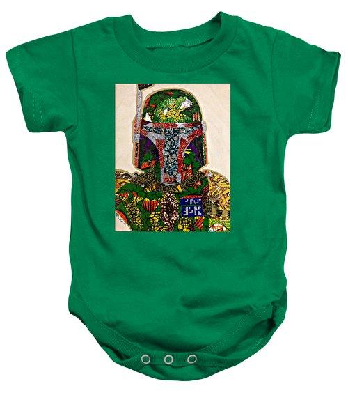Boba Fett Star Wars Afrofuturist Collection Baby Onesie