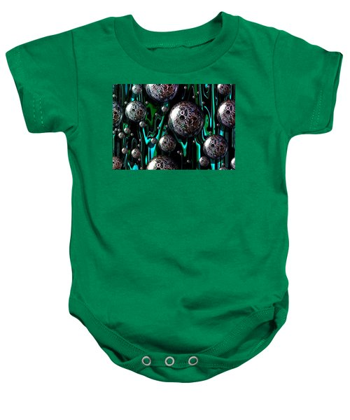 Bubble Abstract 1e Baby Onesie