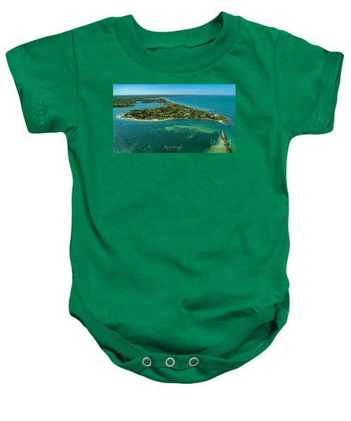 Chapoquoit Island Baby Onesie