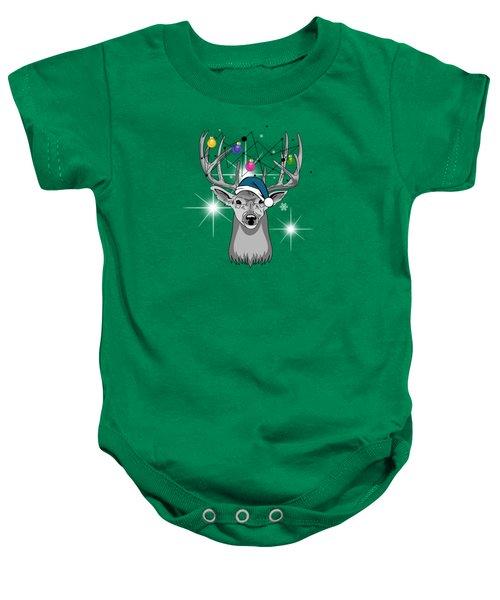 Christmas Deer Baby Onesie