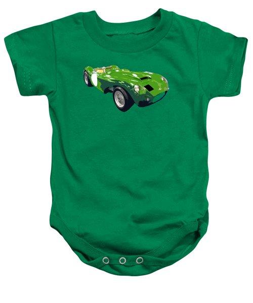 Classic Sports Green Art Baby Onesie