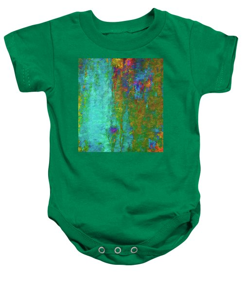 Color Abstraction Lxvii Baby Onesie