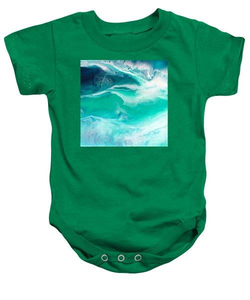 Crystal Wave12 Baby Onesie