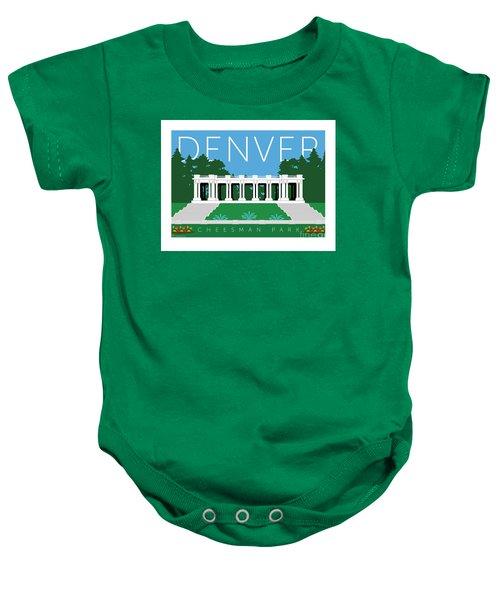 Denver Cheesman Park Baby Onesie