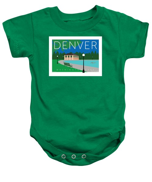 Denver Washington Park Baby Onesie