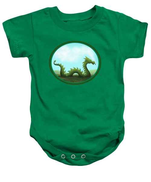 Dream Of A Dragon Baby Onesie by Little Bunny Sunshine