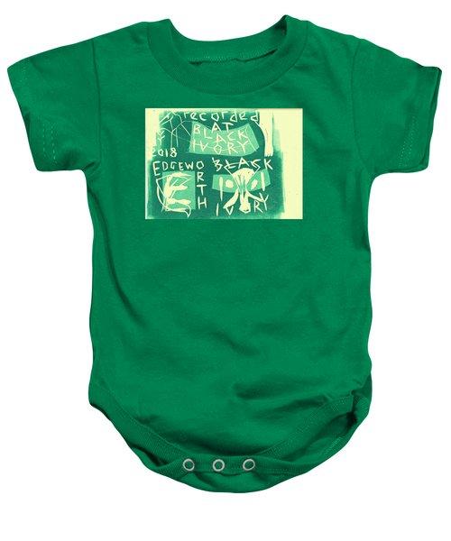 E Cd Green Baby Onesie