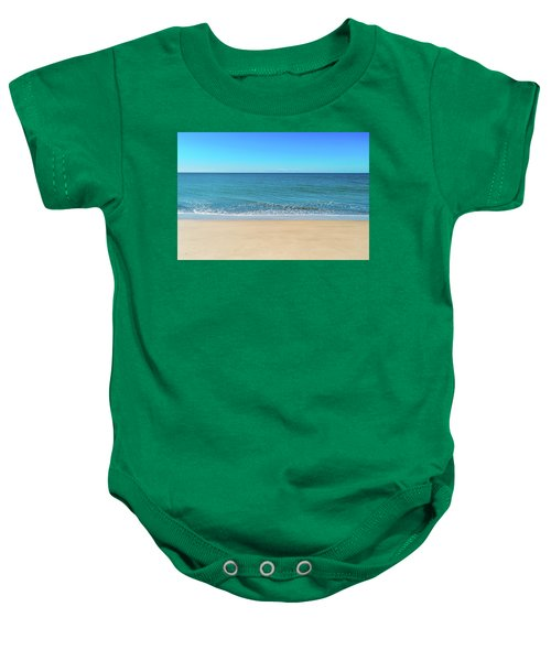 Empty Beach Baby Onesie