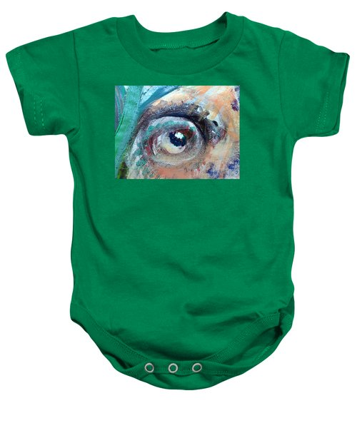 Eye Go Slow Baby Onesie