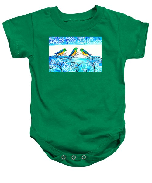 Family Time Baby Onesie by Cathy Jacobs
