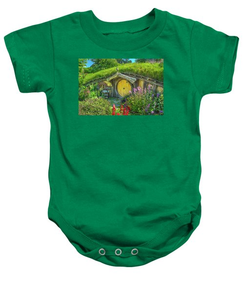Flowers In The Shire Baby Onesie