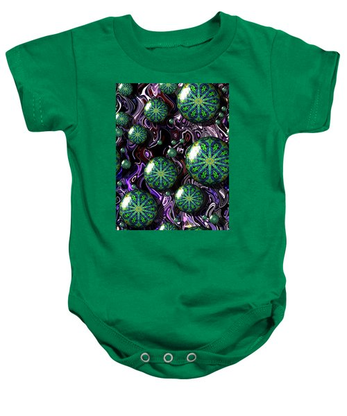 Fractal Abstract 7816.5 Baby Onesie
