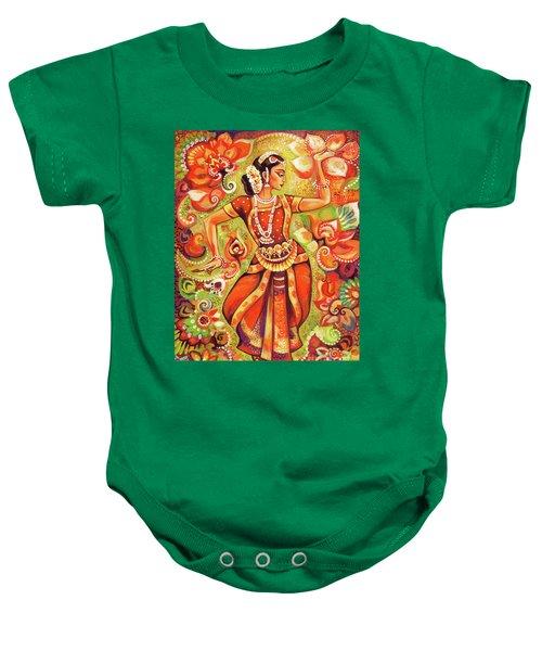 Ganges Flower Baby Onesie