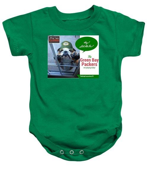 Green Bay Packers Baby Onesie
