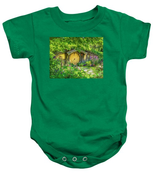 Hobbit Cottage Baby Onesie