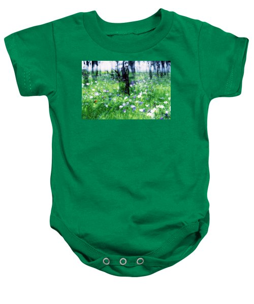 Impressionistic Photography At Meggido 1 Baby Onesie