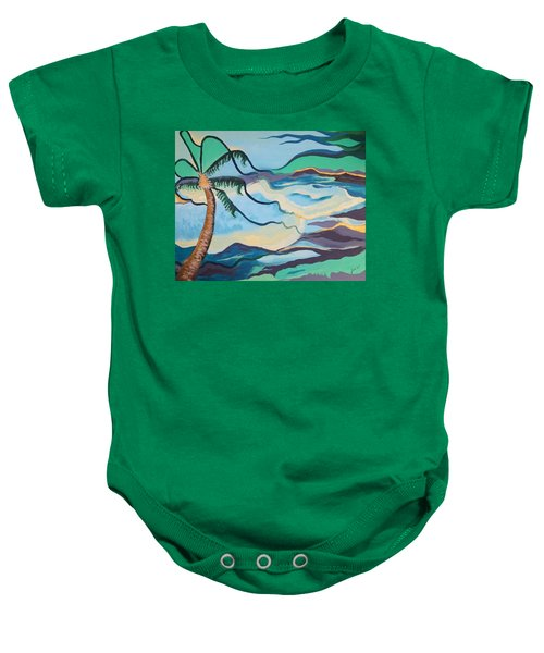 Jamaican Sea Breeze Baby Onesie