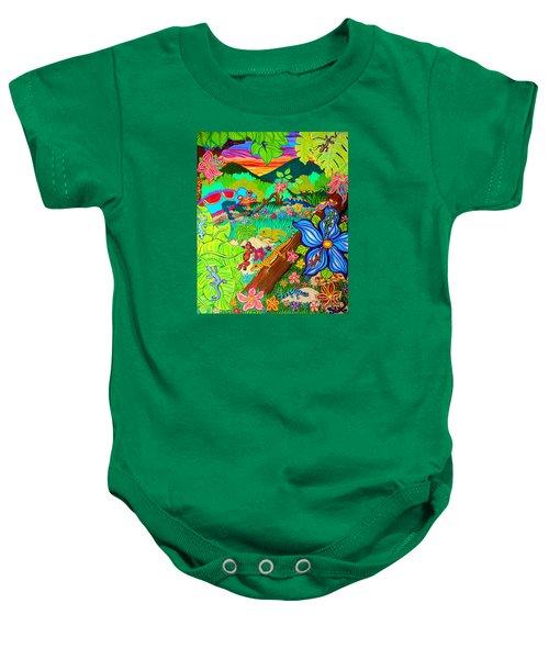 Leapin Lizards Baby Onesie