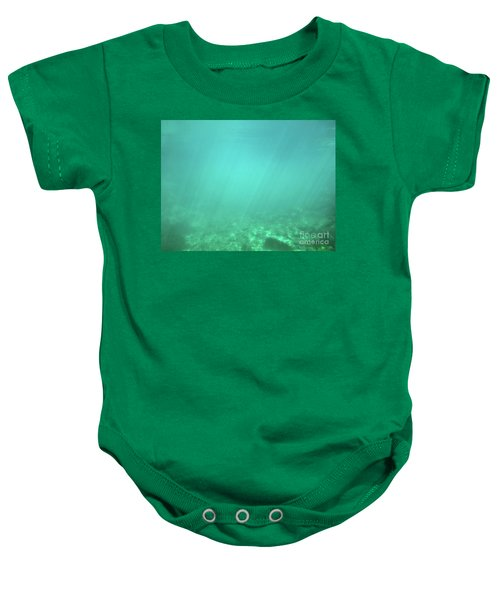 Baby Onesie featuring the photograph Light In The Water by Francesca Mackenney