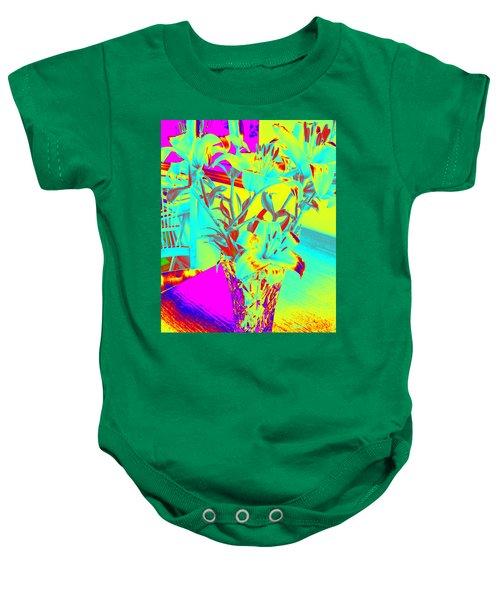 Lilies #4 Baby Onesie