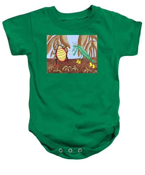 Lucy And Pablo Need A Garden Baby Onesie by Jan Watford