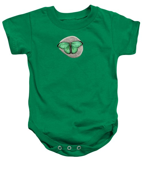 Mito Awareness Butterfly- A Symbol Of Hope Baby Onesie