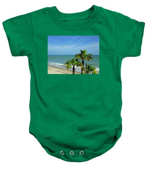 Palms At Vero Beach Baby Onesie