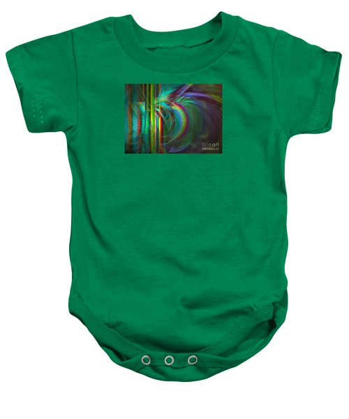 Penetrated By Life - Abstract Art Baby Onesie