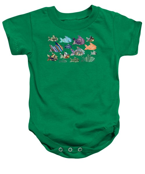Fish In The Sea Baby Onesie
