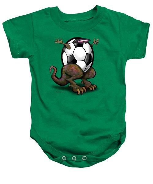 Soccer Zilla Baby Onesie